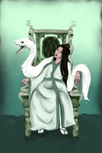 Yeji Benzaiten- White Snake Goddess