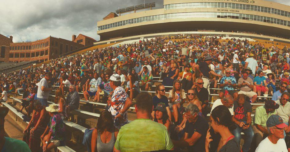 Sunshine Daydream~July 2-3, 2016~Folsom Field, Boulder, CO.